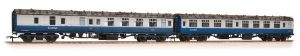 Bachmann 39-004 ScotRail branded Mark 1s, SK + BSK, Blue/Grey Livery, Weathered